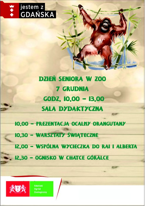 ZOO PLAKAT SENIOR