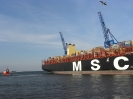 MSC MAYA wpływa do DCT Gdańsk  fot. Marta Polak