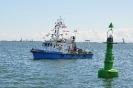 Nowe boje na torze wodnym do gdańskiego portu.
