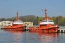 Port gdański - holowniki Atlas II i Herkules II