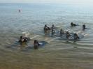 TVP opanowała plażę w Brzeźnie fot. W. Amerski